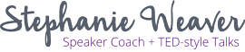 Public Speaking Coach | TED Talk Coach Logo