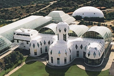 Experienceology client Biosphere2