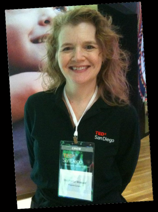 TED-style speaker coach Stephanie Weaver