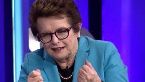 Public speaker video: Billie Jean King